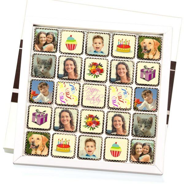 Personalisierte Pralinen-Geschenkboxen