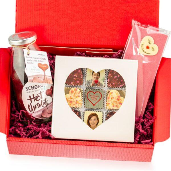 Valentins Geschenkbox